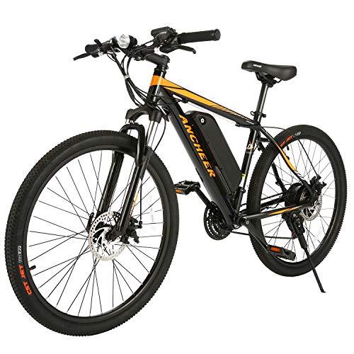 ANCHEER Electric Bike Electric Mountain Bike 350W review