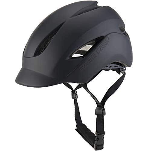 BASE CAMP Adult Bike Helmet with Rear Light review