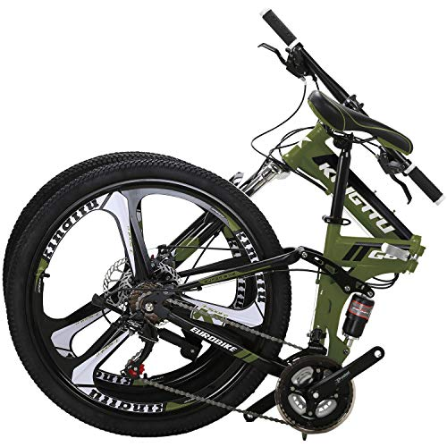 OBK G4/G6 26-inch Full Suspension Folding Mountain Bike review