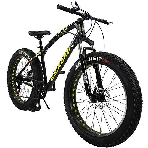SAIGULA Fat Tire Bicycle Fat Mountain Bike 26 Inch 4.0 inch Tire BTM 7 review