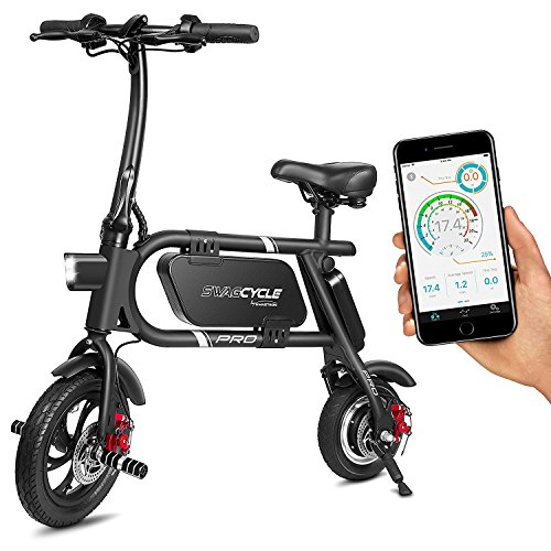 SwagCycle Pro Folding Electric Bike, Pedal Free and App Enabled review