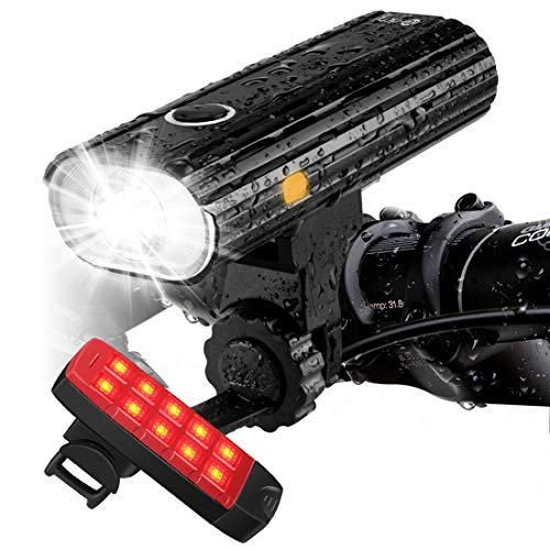 Te-Rich 800 Rechargeable Bike Lights – Headlight & Taillight review