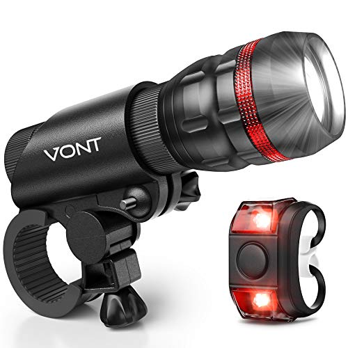 Vont Bike Headlight and Taillight review